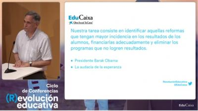 EduCaixa TV Robert Slavin & Nancy Madden, Transformación educativa basada en la evidencia